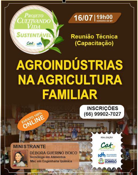 Agroindustrias na agricultura familiar