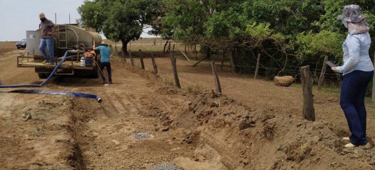 instalação de drenos 3