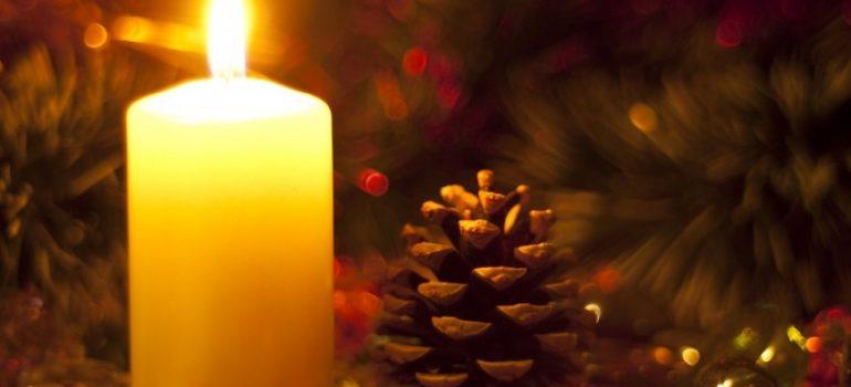 Natal vela.  imagem Feriados Ano Novo